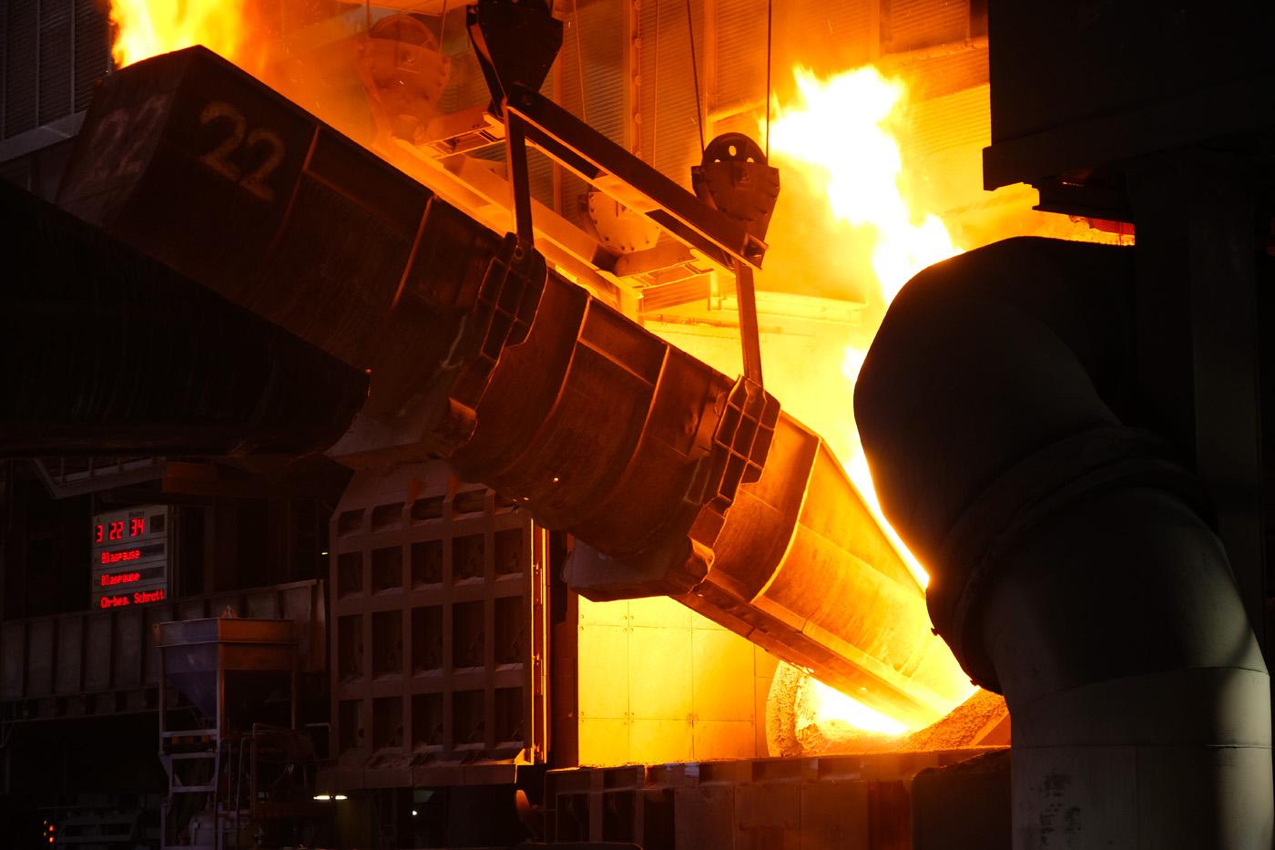Energieverbrauch im Stahlwerk | © Günter Brombach