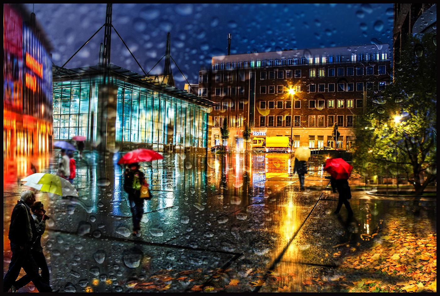 BdM 2017-09 - Dortmund im Regen | © Dr. Doris Nsiff