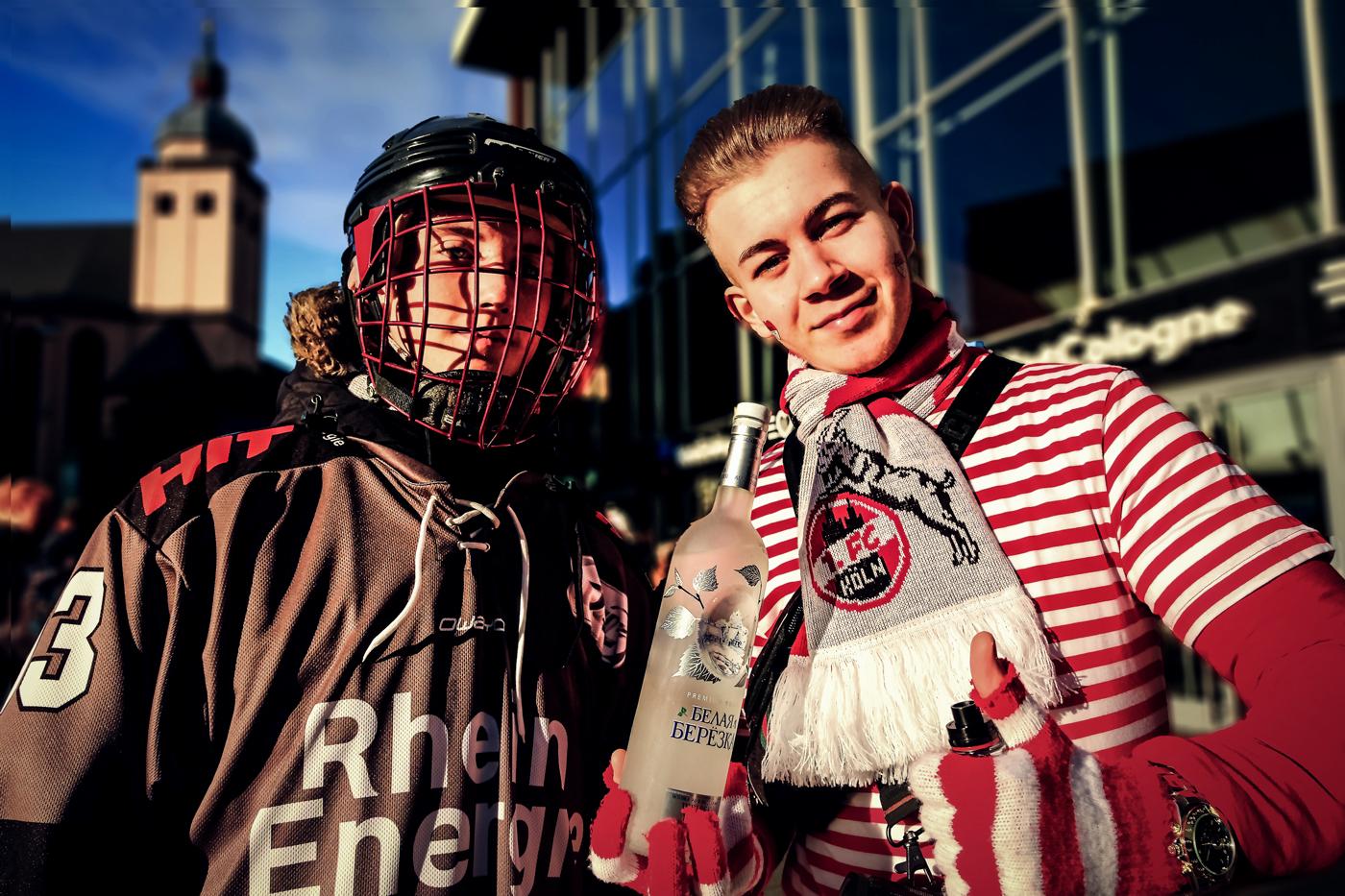 Sportsfreunde   © Günter Brombach