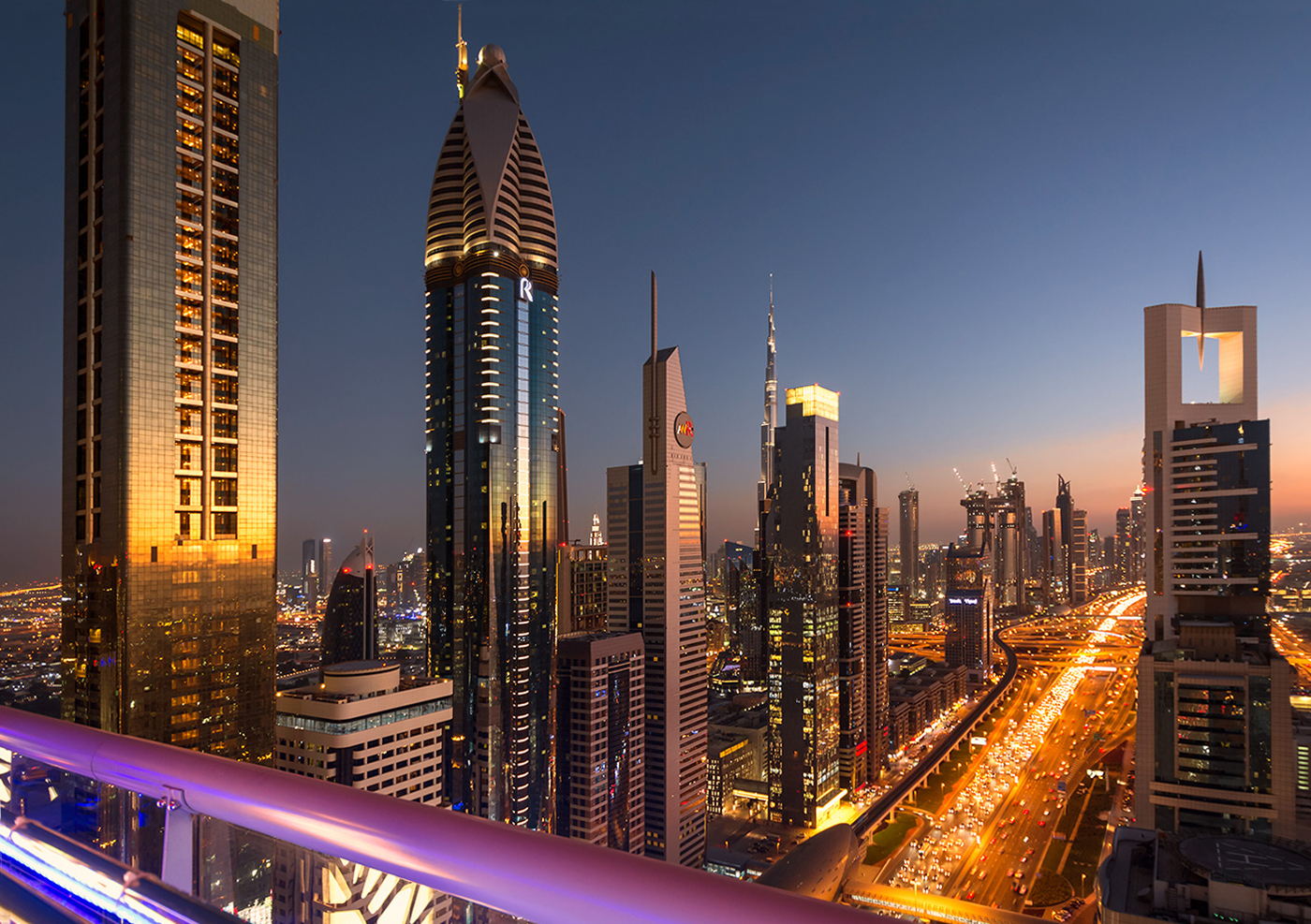 Burj Khalifa Mal im Hintergrund | © Marianne Wogeck