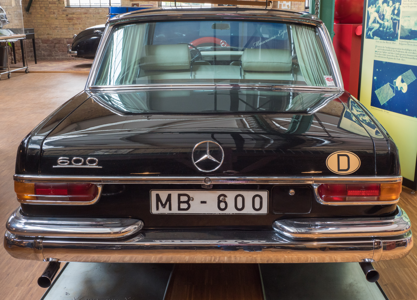 Mercedes 600   © Karl-Heinz Ziolkowski