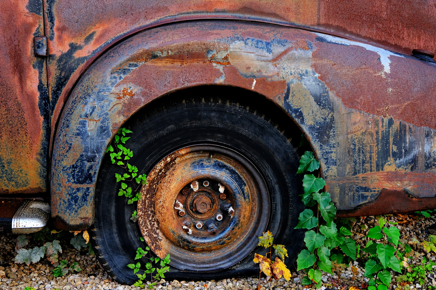 Rusty Caddy | © Günter Brombach
