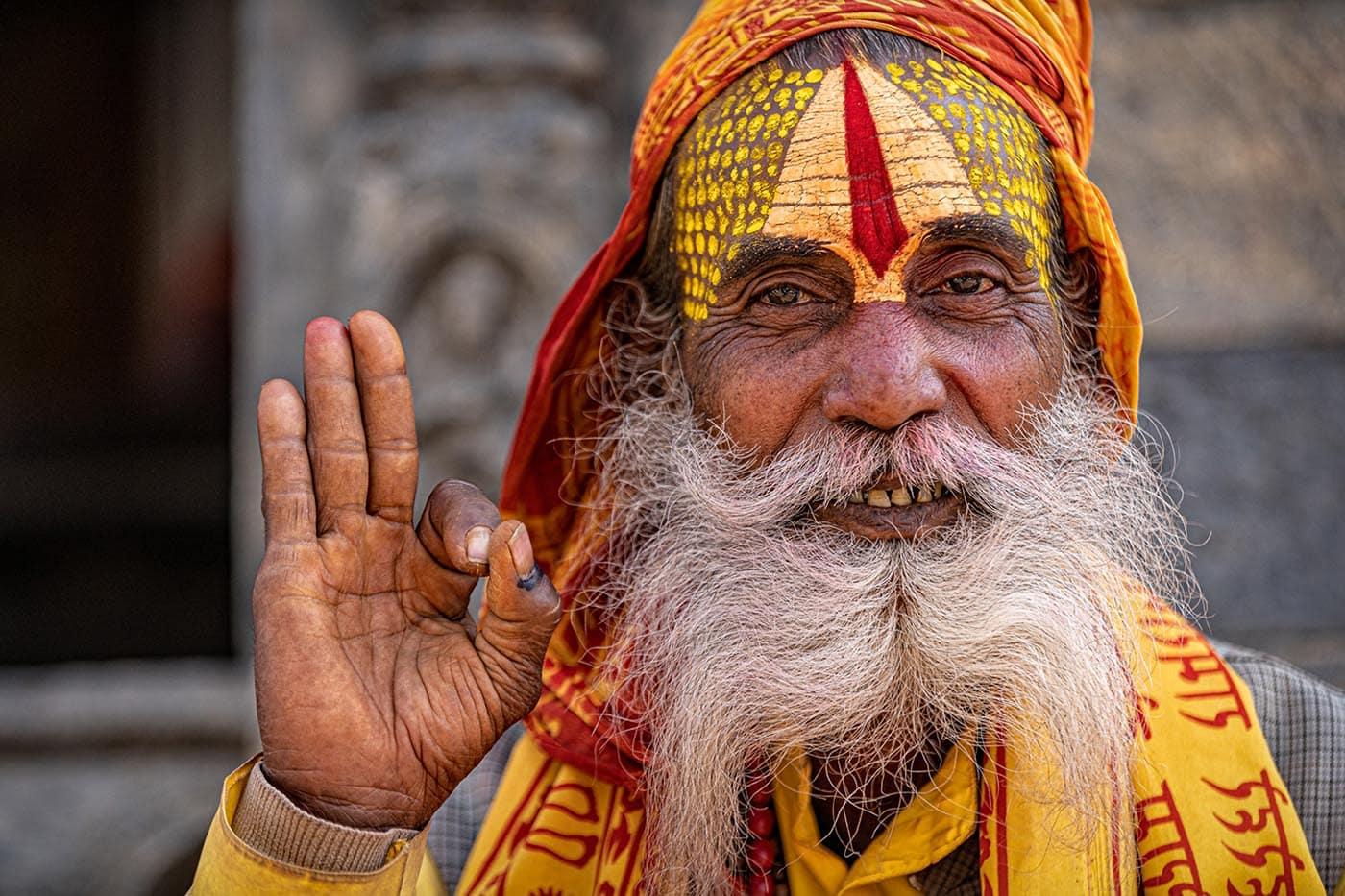 Annahme: Sadhu Blessing | © Fred Eversmann