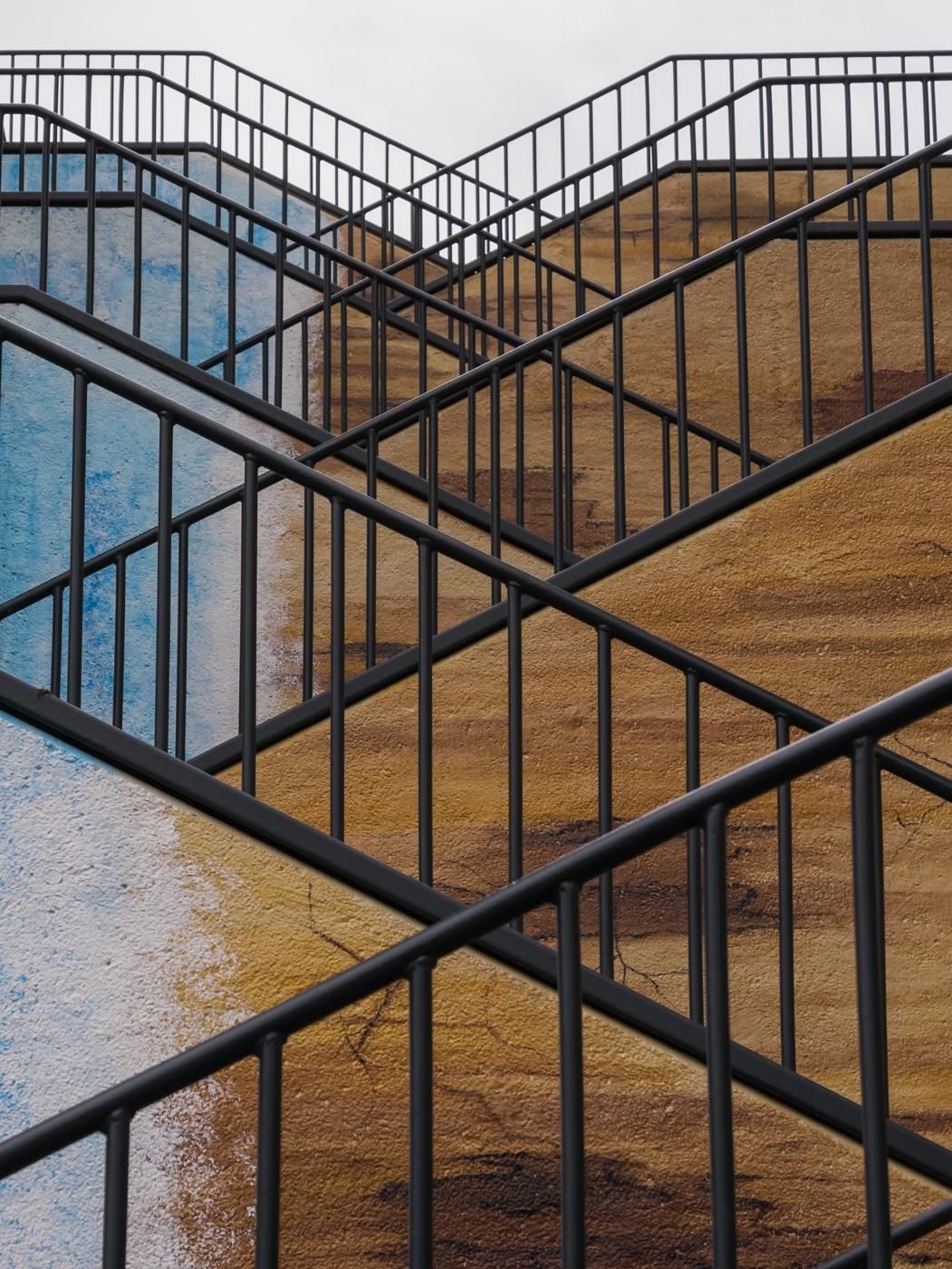 Annahme: Zickzack-Treppe | © Birgit Ziolkowski