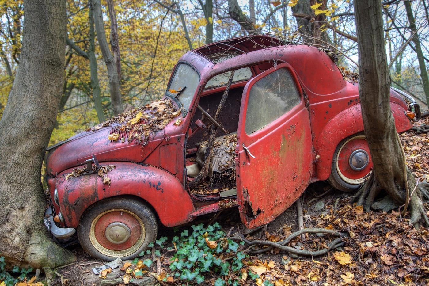 Lost vintage car | © Wolfgang Röser