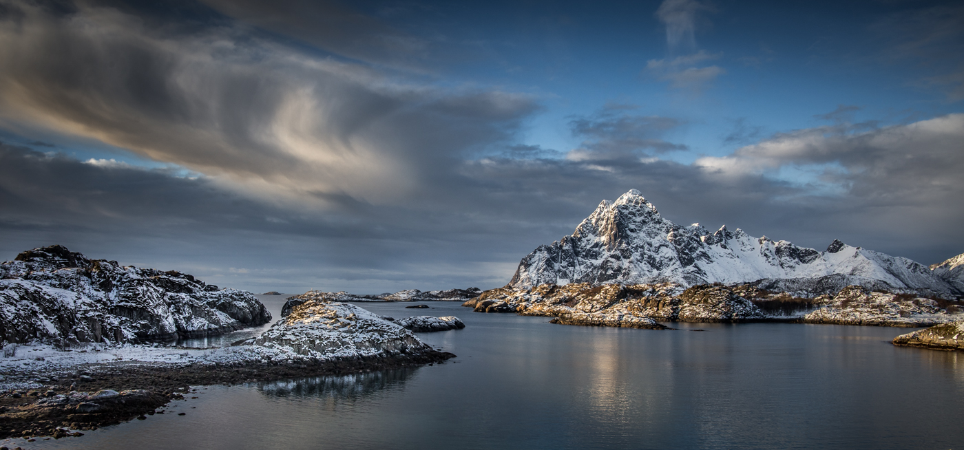 Annahme: Sunrise Lofoten | © Irmgard Crispin