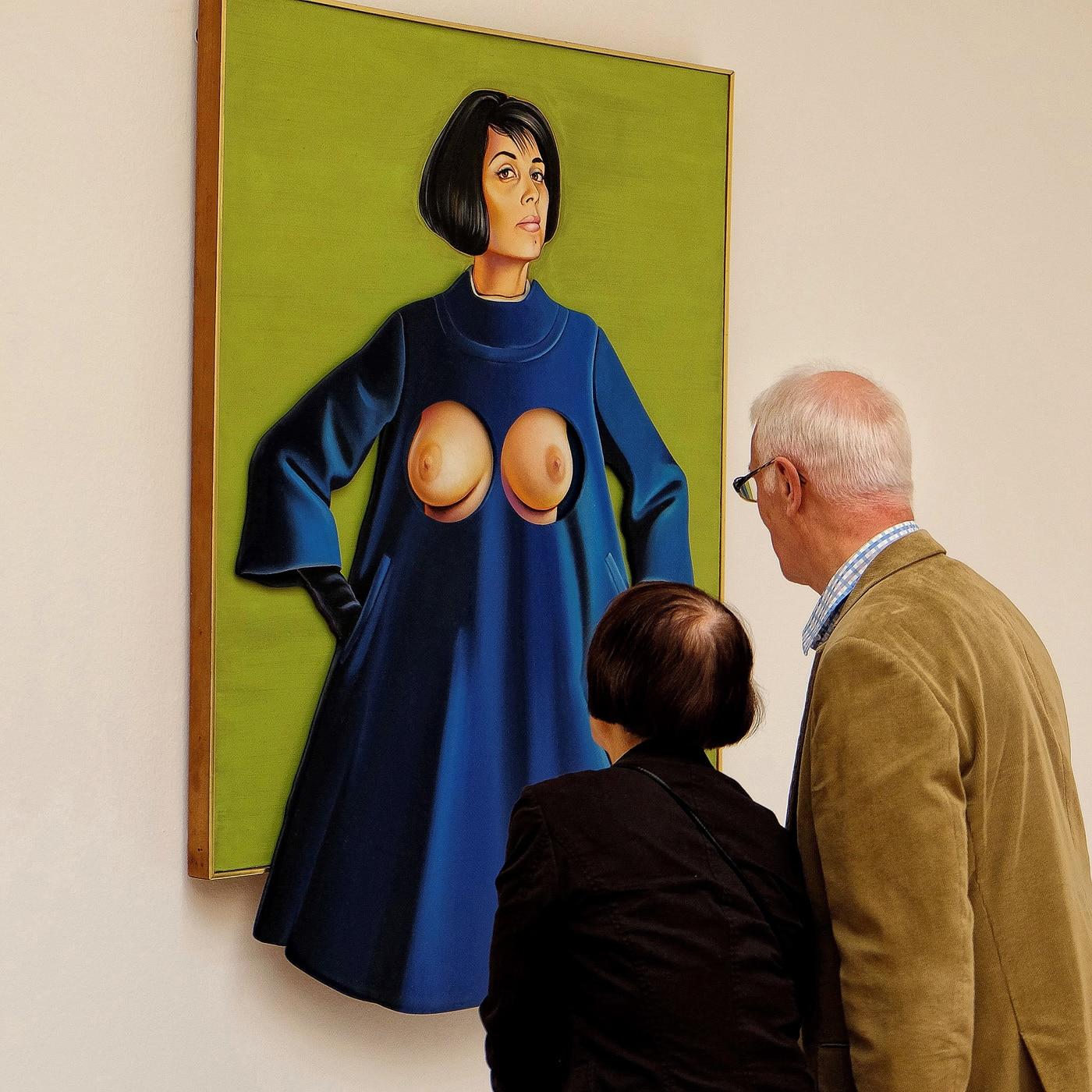 Begegnung im Museum  | © Günter Brombach