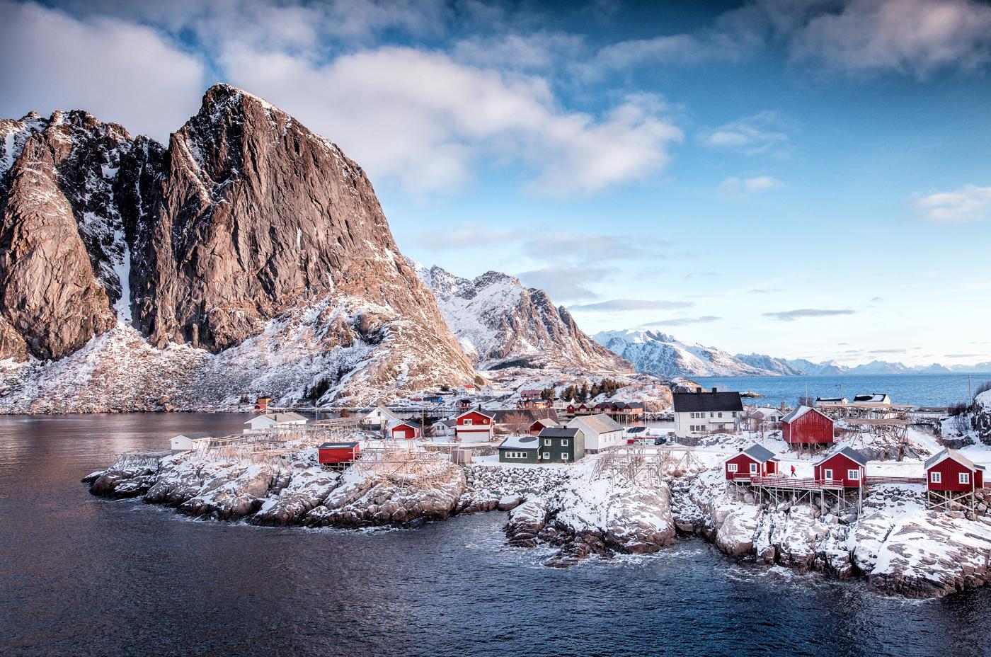 Annahme:  Morgenstimmung auf den Lofoten   | © Irmgard Crispin
