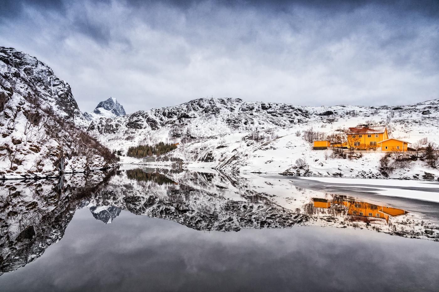 Annahme:  Stille am Fjord  | © Irmgard Crispin