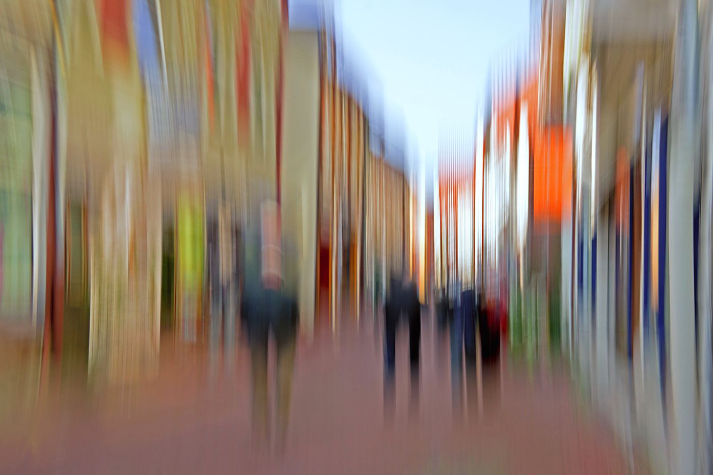 Annahme:  In der Fußgängerzone   | © Sonja Molter