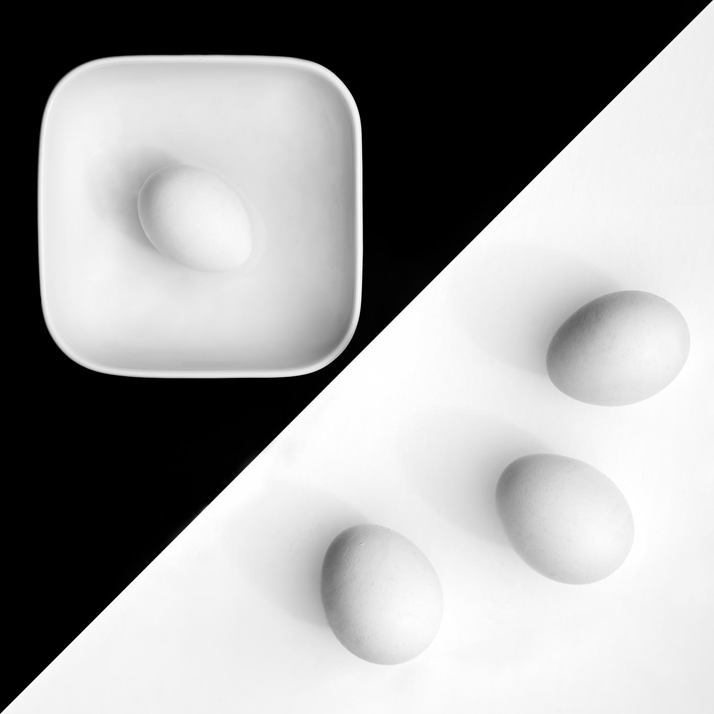 Eier und Schale | © Irmgard Crispin