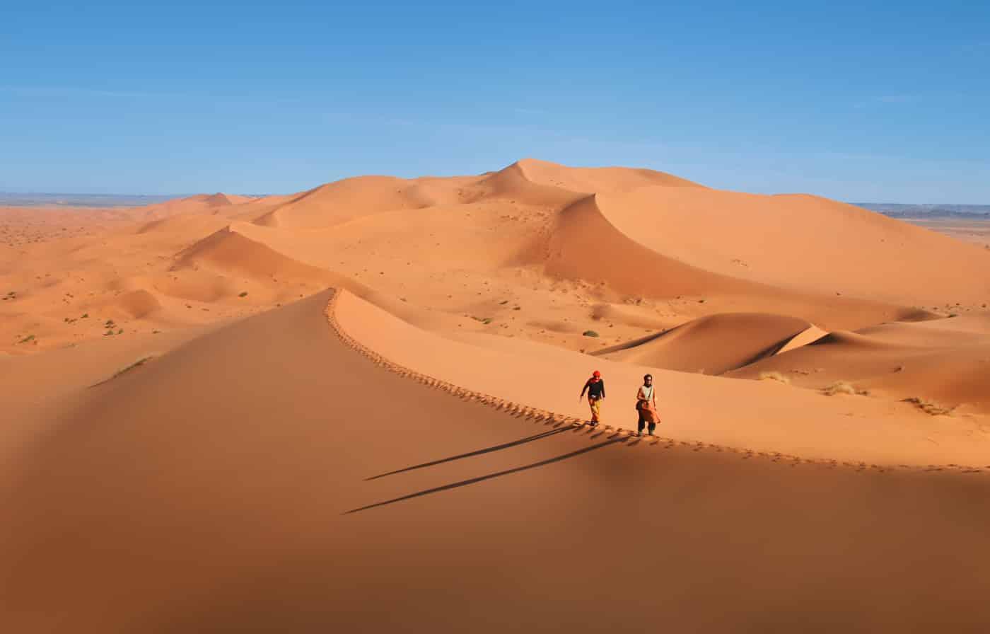Annahme: Walk on the dune  | ©  Irmgard Crispin