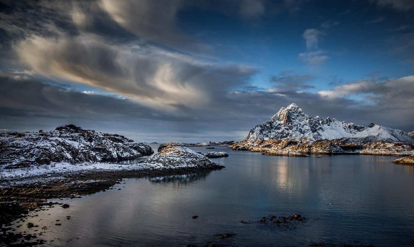 Sunrise Lofoten | © Irmgard Crispin