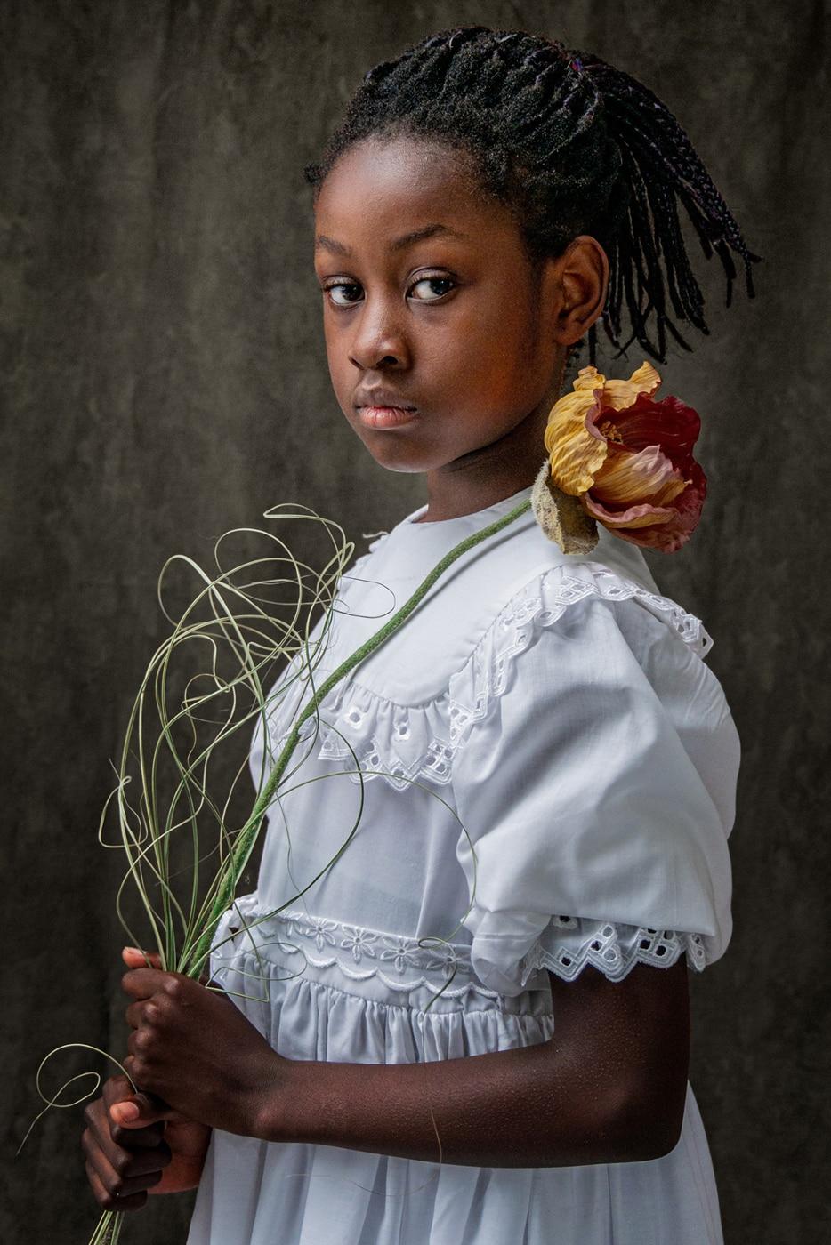 Flowergirl   | © Dr. Doris Nsiff
