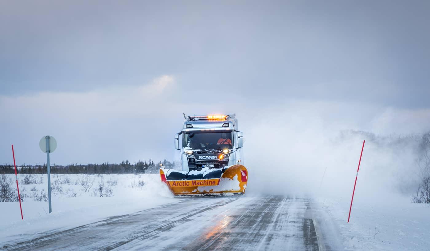 Arctic Machine  | © Irmgard Crispin