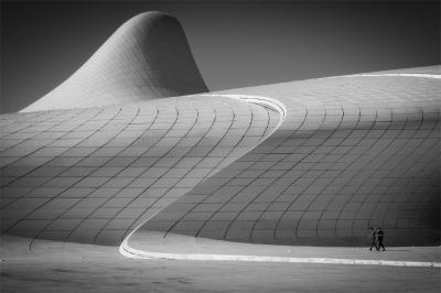 Passing Zaha's Spaceship  © Fred Eversmann
