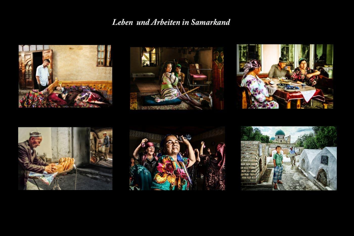 Annahme: Leben und Arbeiten in Samarkand-SU | © Dr. Doris Nsiff
