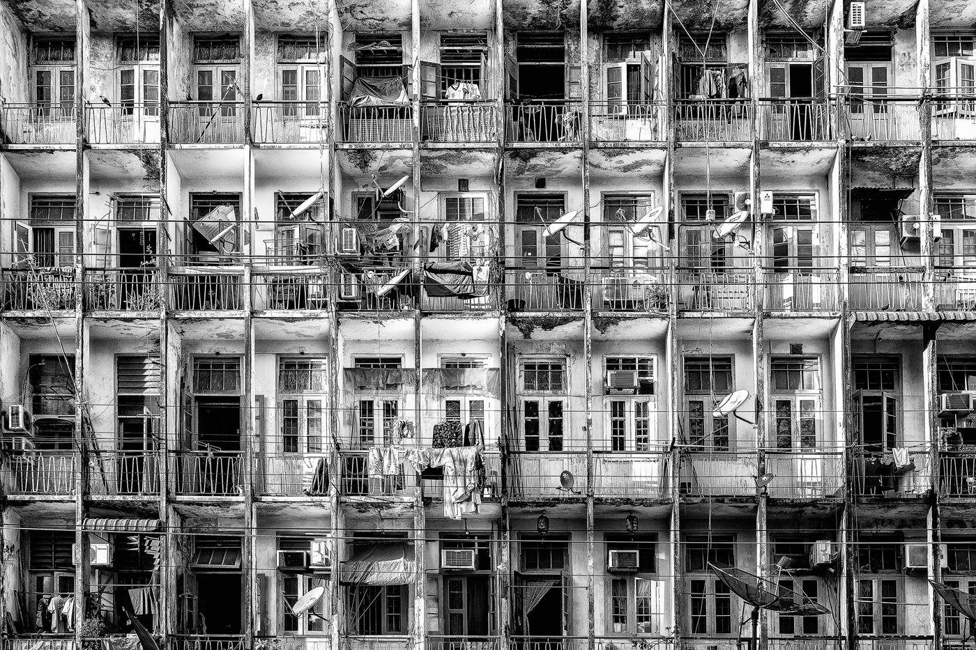 Annahme: Yangon Facade | ©  Fred Eversmann