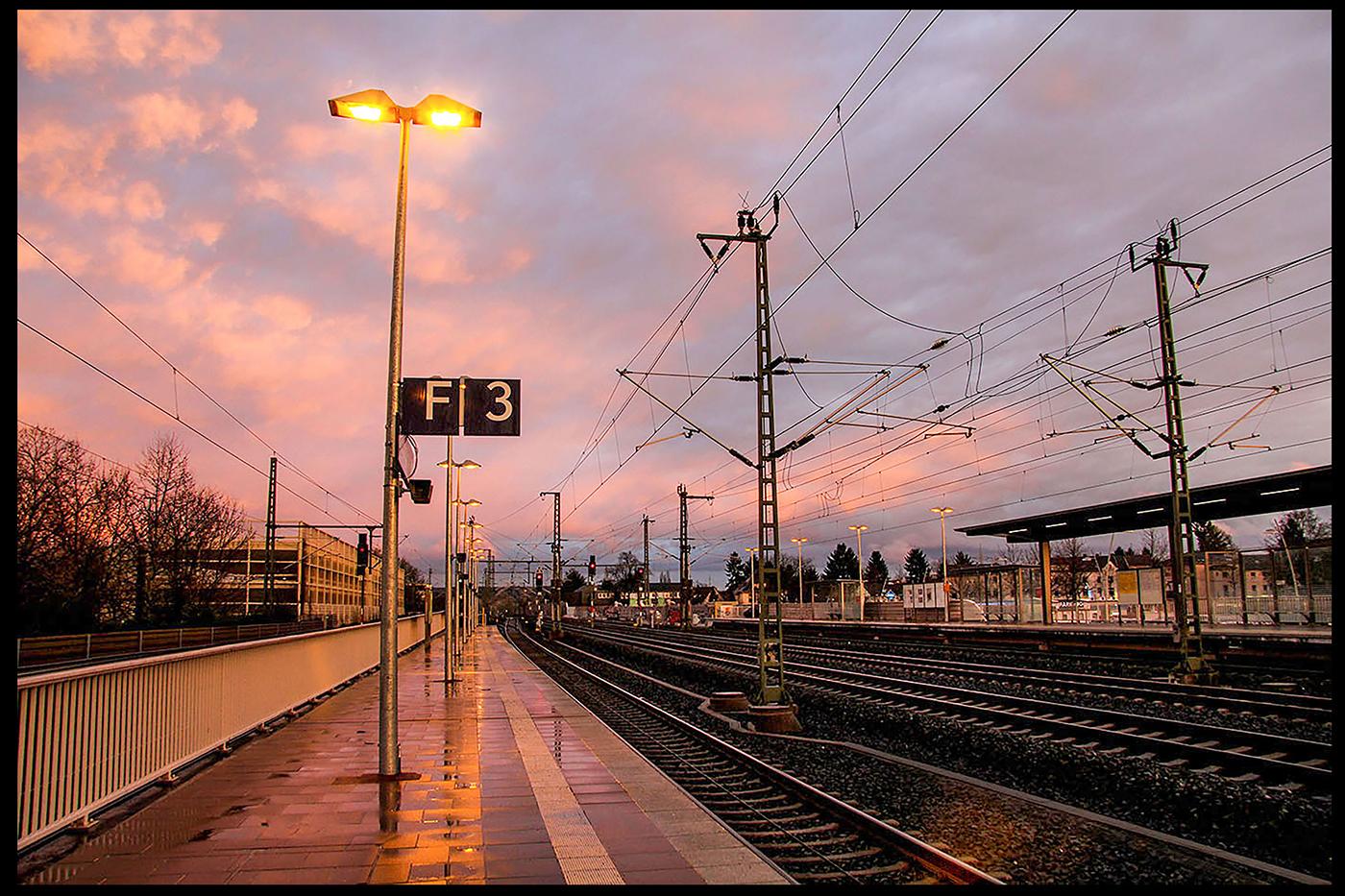 14. Platz: Siegburg, Bahnhof | © Dr. Doris Nsiff