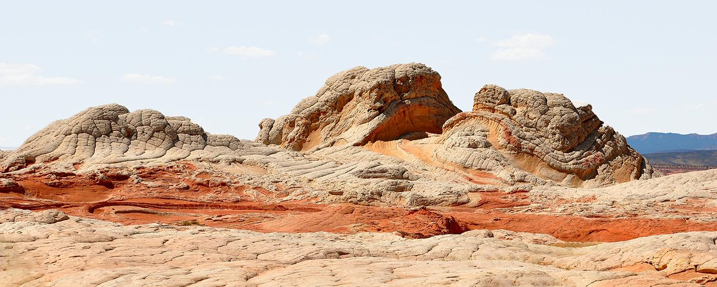Verwirbelter Stein, White Pocket, Coyote Buttes South, Arizona/USA   © Marianne Wogeck
