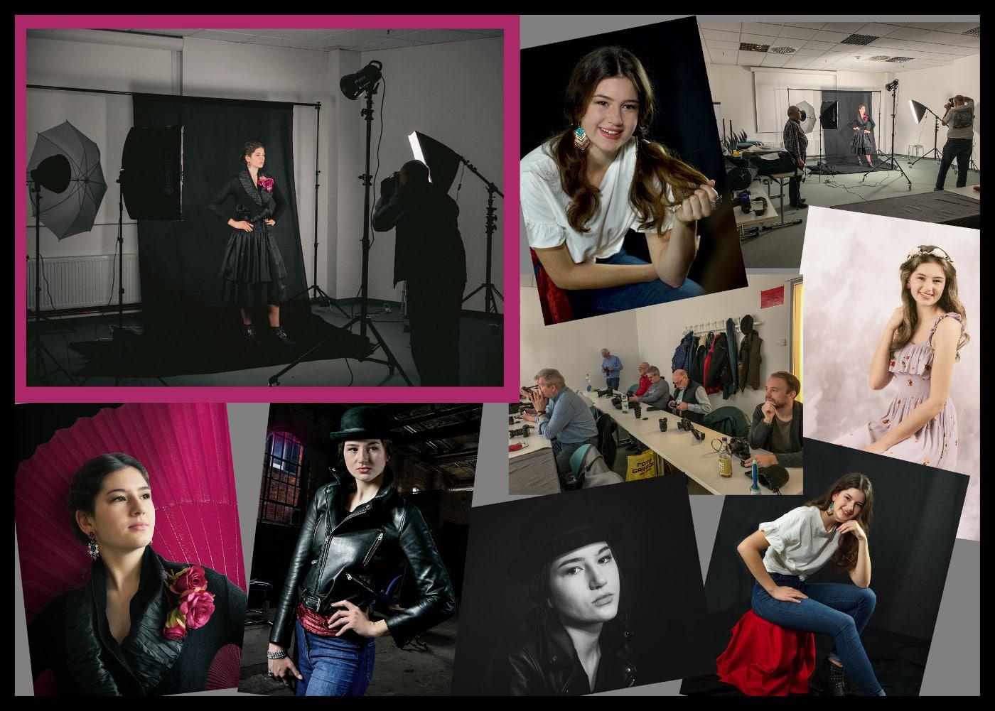 """FCT Workshop 03 Arbeiten mit Lichtformern Teil 2 am 23.11.2019 """"Das fast perfekte Porträtfoto"""""""