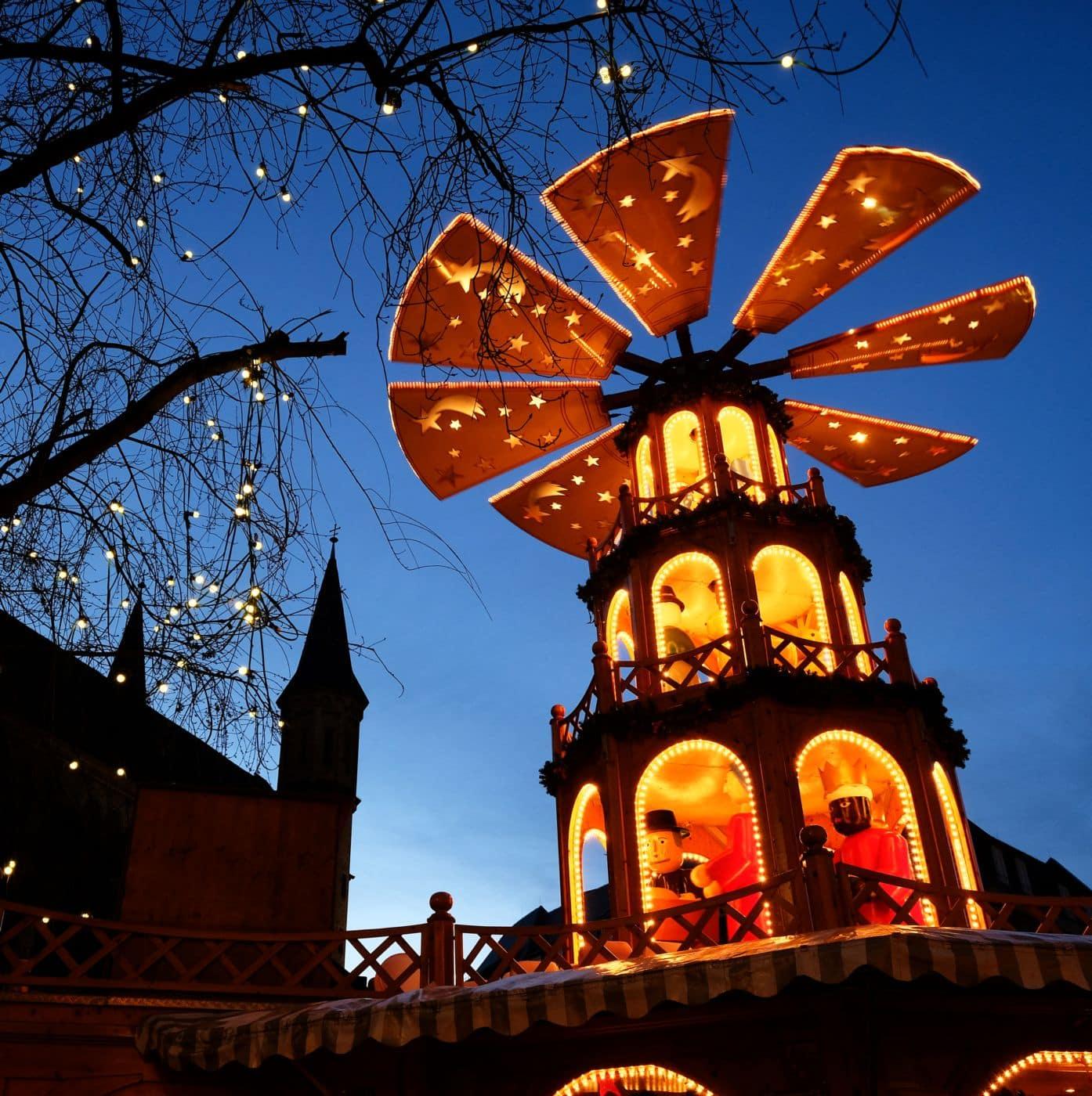 Weihnachtsmarkt in Bonn | | © Günter Brombach