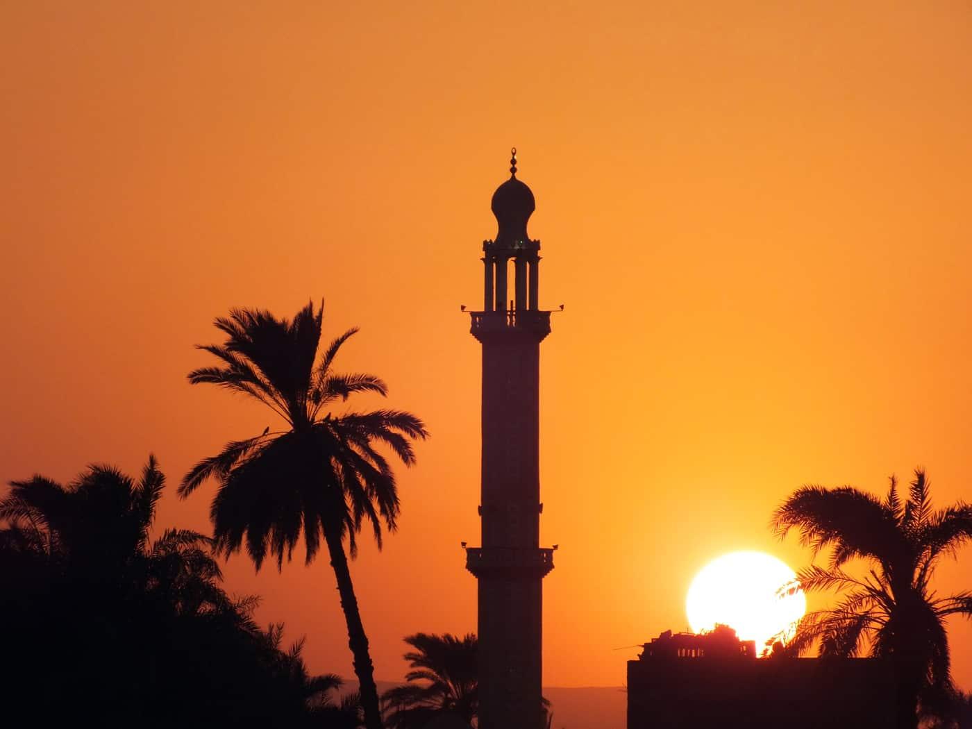 Ägypten, Moschee, Sonnenuntergang | © Jürgen Eich